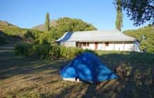 Acheron Accommodation House Campsite . Molesworth Station