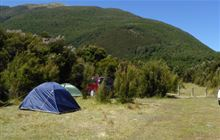 Boyle Campsite . Lake Sumner Forest Park and Lewis Pass Scenic Reserve and St James Conservation Area