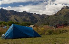 Twelve Mile Delta Campsite . Queenstown area