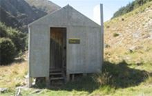 Ashton Hut . Eyre Mountains/Taka Rā Haka Conservation Park