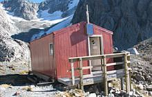 Barker Hut . Arthur's Pass National Park