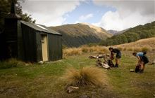 Bealey Spur Hut . Arthur's Pass National Park