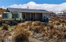 Oturere Hut . Tongariro National Park