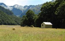 Makarora Hut . Makarora area, Mount Aspiring National Park