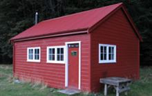 Red Hut . Ruataniwha Conservation Park