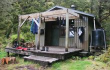 Upper Spey Hut . Fiordland National Park